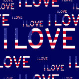 I love usa background Royalty Free Stock Images