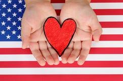I love the USA Royalty Free Stock Photography