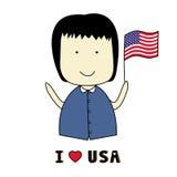 I love USA1 Stock Photo