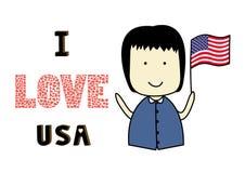 I love USA2 Stock Photo