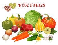 I love vegetables Royalty Free Stock Images