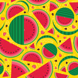 I love watermelon Stock Images