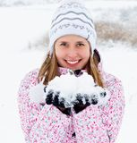I Love Winter! Royalty Free Stock Photos
