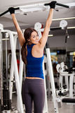 I love working out at the gym Royalty Free Stock Photo