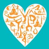 I love yoga Stock Images