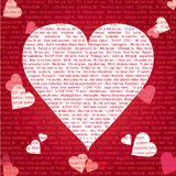 I Love You 002 Royalty Free Stock Photo