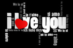 Free I Love You Stock Images - 12340584