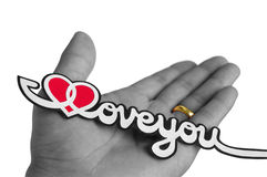 I Love You. Love and Faith (I Love You designed and created by the submitter Stock Photo