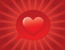 I love you!! stock illustration