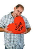 I love you Stock Image