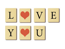 I love you. Royalty Free Stock Image