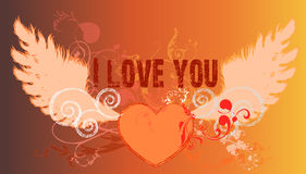 I love you. Concept Royalty Free Stock Photos