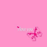 I love you - art illustration Stock Photo