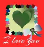 I love you background Royalty Free Stock Image
