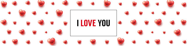 I Love You background Royalty Free Stock Photos