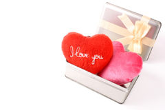 I love you in a box Stock Images