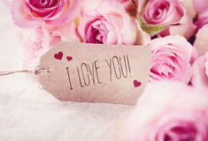 I love you! Royalty Free Stock Photography
