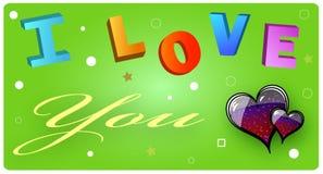 I Love You Card Stock Photos