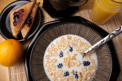 I Love You Cereal royalty free stock image