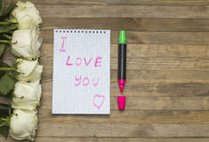 I love you concept Royalty Free Stock Images