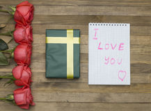 I love you concept Stock Photography