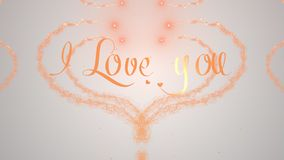 I love you Love confession. Valentine`s Day heart made of orange splash isolated on light white background. Share love. Holiday card. Love proposal. Orange royalty free stock photos