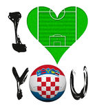I Love You - Croatia Stock Photos