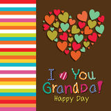 I love you Grandpa Royalty Free Stock Image