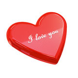 I love you heart Stock Image