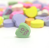 I Love You Heart. A photo of a Valentine heart candy Royalty Free Stock Images