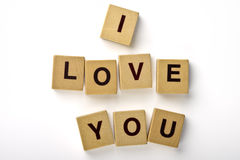 I Love You Magnets Stock Image