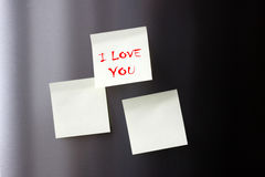 I Love You message Royalty Free Stock Image