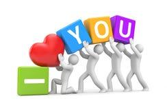 I Love You - metaphor Stock Images