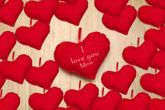 I love you mom. Background Royalty Free Stock Image
