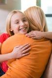 I love you mom! Stock Image
