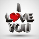 I love you. Royalty Free Stock Photos