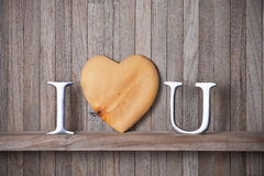 I Love You Heart Stock Images