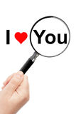 I Love You sign Royalty Free Stock Images