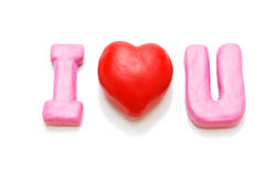 I Love You (Single) Royalty Free Stock Image