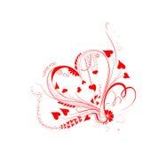 I Love You Valentine Background Stock Image
