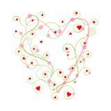 I Love You Valentine Background Stock Photography