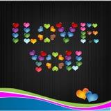 I love you / vectore background. Vector backgound i love you Stock Photos