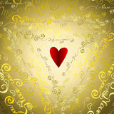 I love you words background. Royalty Free Stock Photo