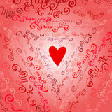 I love you words background. Stock Photo