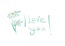 I love you ! Stock Images