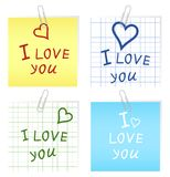 I love you2 Stock Photo
