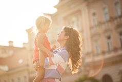 I love your smile. royalty free stock images