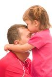 I love yoy, daddy! Stock Image