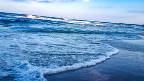 Milky water milky sea royalty free stock images