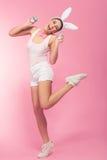I`m so funny bunny! Stock Photography